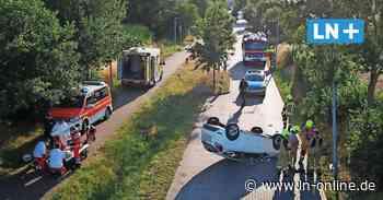 Auto-Unfall in Geesthacht 18-Jähriger überschlägt sich mit Ford - Lübecker Nachrichten