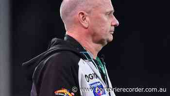 Port Adelaide's true test awaits: coach | The Recorder | Port Pirie, SA - The Recorder