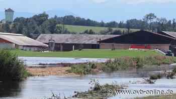 Ohne ihre Regenrückhaltebecken wäre die Gemeinde Tuntenhausen vielerorts untergegangen - ovb-online.de
