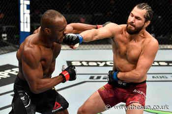 Jorge Masvidal targets November UFC return and hints at Kamaru Usman rematch after champion's broken nose h - The Sun