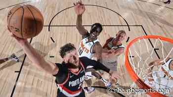 Watch Portland's Jusuf Nurkic dunk all over Bol Bol