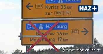 Falkenhagen: Baustelle an B103 wandert weiter - Märkische Allgemeine Zeitung
