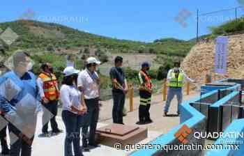 Inaugura Media Luna sistema de tratamiento de aguas residuales en Cocula - Quadratin Guerrero