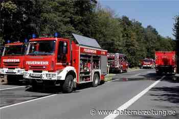 """Feuerwehrchef warnt: """"Jede Glasscherbe kann einen Waldbrand auslösen"""" - Halterner Zeitung"""