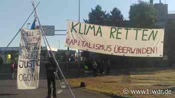 Protest vor Shell-Raffinerie in Wesseling