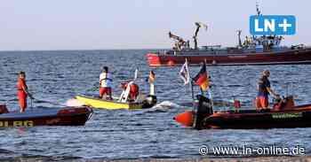 Vermisstensuche in der Ostsee: Retter vermuten hilflosen Schwimmer