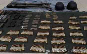 Aseguran explosivos, 626 cartuchos y equipo táctico en Tepalcatepec - El Sol de Zamora