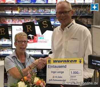 Jubiläum In Edewecht: Sie hält Supermarkt 40 Jahre die Treue - Nordwest-Zeitung