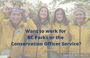 Youth work experience program with BC Parks and COS   Columbia Valley, Cranbrook, East Kootenay, Elk Valley, Kimberley, Ktunaxa Nation - E-Know.ca