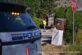 Penticton homes evacuated due to wildfire northwest of city - Cranbrook Townsman