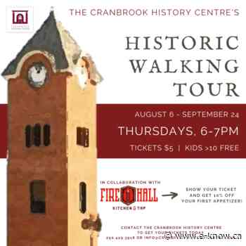 Downtown Cranbrook Historic Tour - E-Know.ca