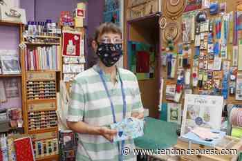 Elle fabrique des masques à l'effigie de la ville ! - Tendance Ouest