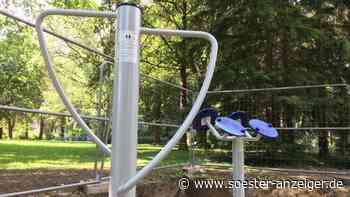 Neuer Bewegungsparcours im Kurpark Werl ist bald fertig - Soester Anzeiger