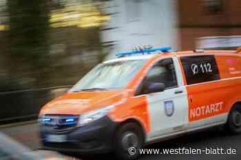 Hövelhof: Zwei Verkehrsunfälle mit Verletzten