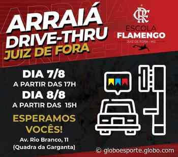 Escolinha do Flamengo promove arraiá drive thru em Juiz de Fora - globoesporte.com