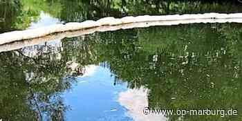 Öl-Panne - Heizöl fließt in die Lahn - Oberhessische Presse