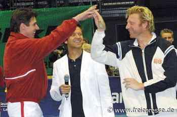 Boris Becker und Michael Stich - Freie Presse