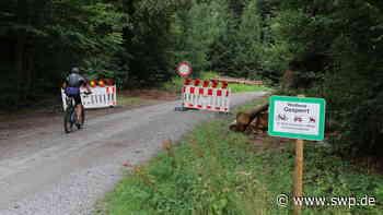 Gaildorf schließt Waldweg: Die Erlenhofer in der Sackgasse - SWP