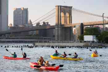 Brooklyn Bridge Park is reinstating free kayaking and other outdoor activities - Time Out New York Kids