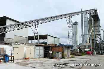 Asphaltmischwerk in Wyhlen hat mehr Aufträge als normalerweise - Grenzach-Wyhlen - Badische Zeitung