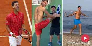 Novak Djokovic: Tennis-Star meldet sich mit Sommer-Clip zurück - Nau.ch
