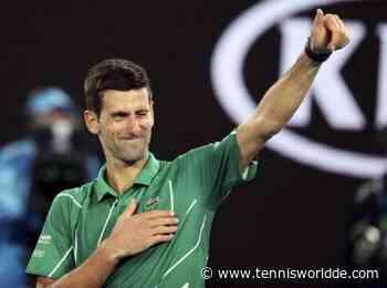 Novak Djokovic hilft einem Mädchen mit einer schweren Krankheit - Tennis World DE