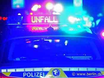 Ein Toter und zwei Verletzte nach Autounfall in Wustermark - Berlin.de