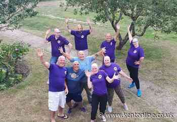 Clare's mass head shave for hospice