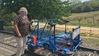 La relance éco : à Vesoul, le vélorail fait le plein de touristes - France Bleu
