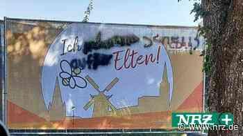 Emmerich: Wahlplakate beschmieren, ist kein Kavaliersdelikt - NRZ
