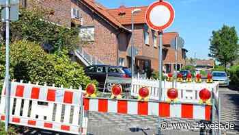 Oer-Erkenschwick: Die Lübbenauer Straße ist in Teilen gesperrt - 24VEST