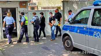 Oer-Erkenschwick: Polizei filzt Transporter an Stimbergstraße - 24VEST