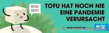 Kampagne von PETA e.V.: Tierschutzorganisation wirbt am Schlachthof- Standort Oer-Erkenschwick für vegane Ern - Lokalkompass.de