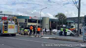 Horror smash in Mackay CBD leaves two injured - Daily Mercury