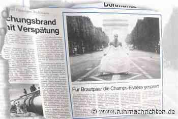 Champs-Élysées wird für Dortmunder Brautpaar gesperrt - Ruhr Nachrichten