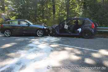 Verkehrsunfall mit drei Pkw bei Jettenbach: Schwerverletzte und Vollsperrung - Wochenblatt-Reporter