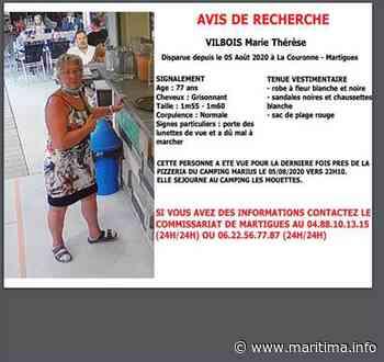 Martigues - Faits-divers - Une femme disparue à Martigues depuis mercredi - Maritima.info