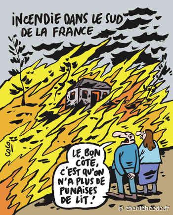 Incendie à Martigues : l'apocalypse ressemble à ça - Charlie Hebdo