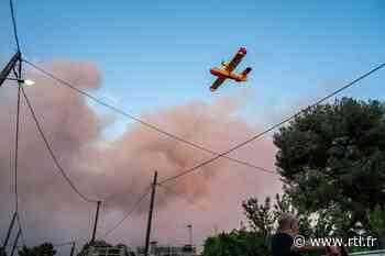 """Les infos de 12h30 - Incendie à Martigues : """"Je n'ai jamais eu aussi peur de ma vie"""", dit une habitante - RTL.fr"""