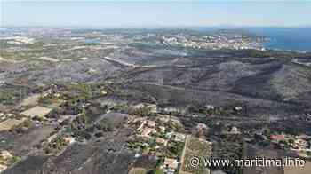 Martigues - Faits-divers - Images au drone au dessus de Saint-Pierre après le passage de l'incendie - Maritima.info