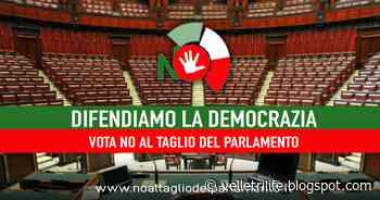 Referendum sulla riduzione dei parlamentari, a Velletri nasce il Comitato per il No - Velletri