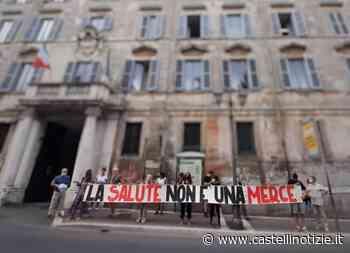 """Albano, sit-in del Coordinamento Sanità Pubblica di Velletri nella Asl RM6: """"Primo passo, la strada è lunga"""" - Castelli Notizie"""
