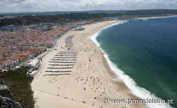 Praia da Nazaré interdita a banhos - Jornal de Leiria