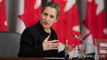 Freeland set to respond to Trump's plan to slap tariffs on Canadian aluminum imports