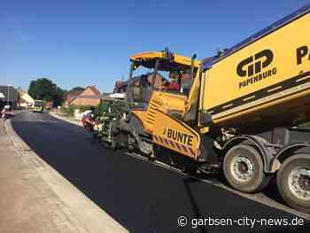 Hauptstraße im sanierten Abschnitt wird Montag wie geplant frei gegeben - Garbsen City News - Garbsen City News
