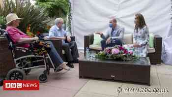 Coronavirus: 'The Royals visited my dad's care home but I couldn't'
