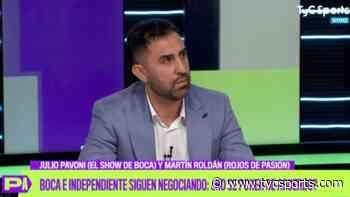"""Rolfi Montenegro: """"Marcone calmaría las cosas en Independiente"""" - TyC Sports"""