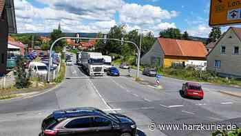 Markierungsarbeiten in Herzberg sind eine Woche früher beendet - HarzKurier