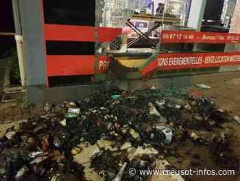 LE CREUSOT : Un feu de poubelle a occasionné de gros dégâts au magasin APVS - Creusot-infos.com