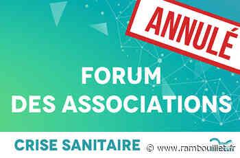 Annulation du Forum des Associations - Ville de Rambouillet Ville de Rambouillet - Rambouillet Infos